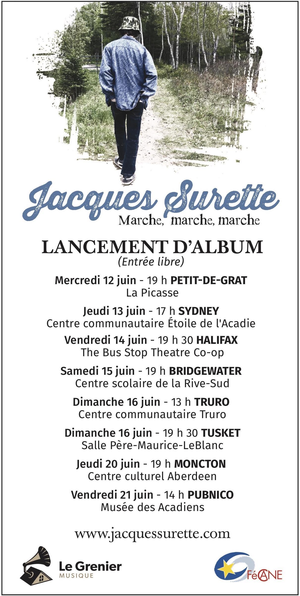 Artistes - Jacques Surette - Le grenier musique